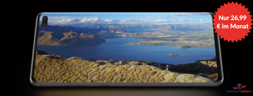 Samsung Galaxy S10 inkl. Telekom Allnet Flat nur 26,99 €/mtl.