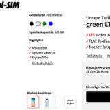 Samsung Galaxy S10 inkl. green LTE 6 GB für 31,99 €