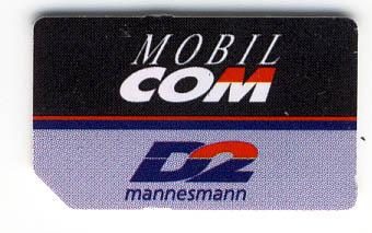 D2 mobilcom SIM