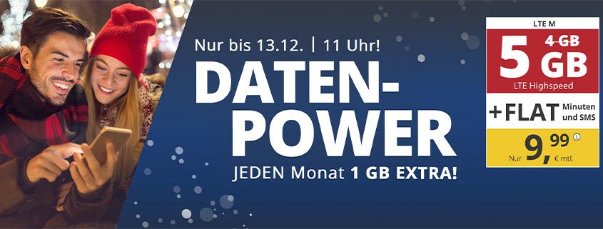 PremiumSIM LTE M mit 5 GB nur 9,99 €/mtl.