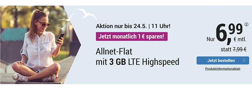 simply LTE 3.000 für 6,99 €