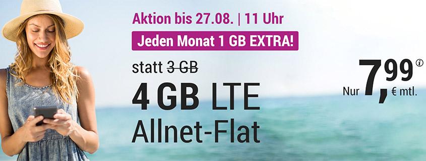 simply 4 GB für 7,99 €