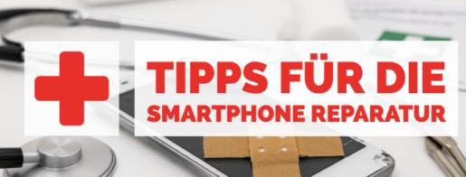 Smartphone defekt - Tipps zur Reparatur