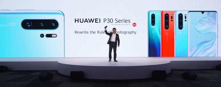 Huawei stellt P30 vor