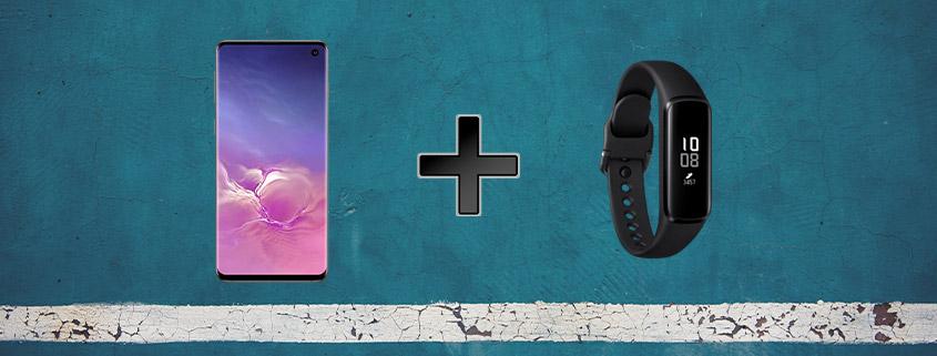 Galaxy S10 + Fitnessarmband für 26,99 €/mtl.