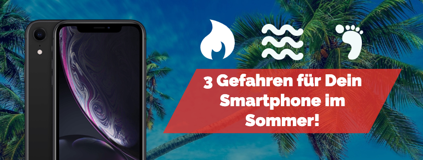 Smartphone Sommer Hitze