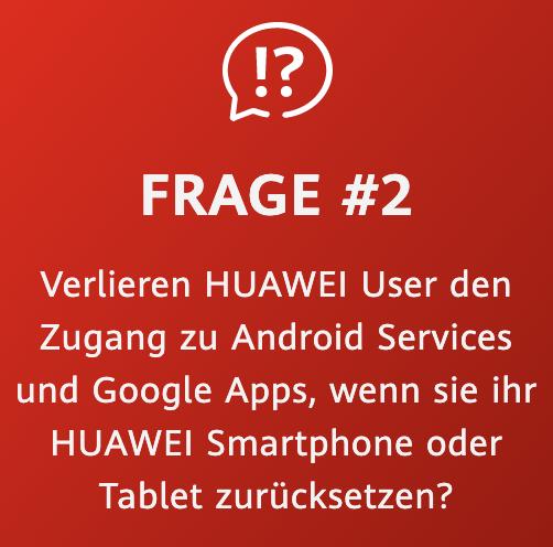 Huawei Zukunftsversprechen Frage 2