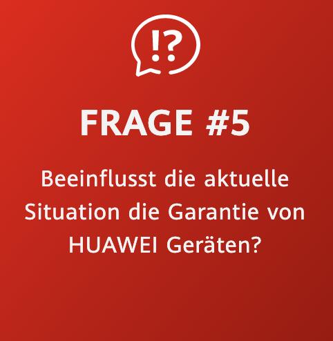 Huawei Zukunftsversprechen Frage 5