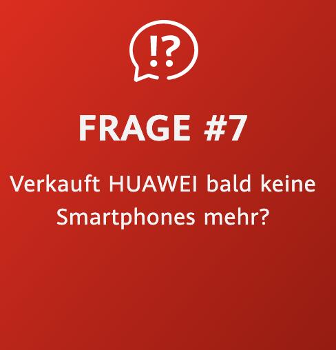 Huawei Zukunftsversprechen Frage 7