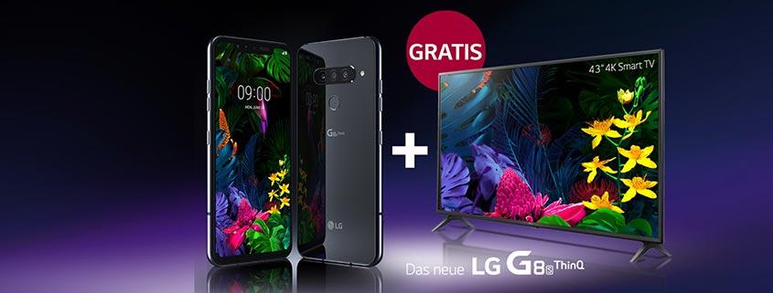 LG G8s ThinQ + Gratis TV Angebote