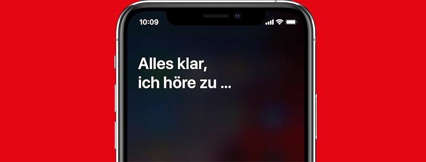 Siri & Co. hören mit - Alles zum Thema hier im Beitrag