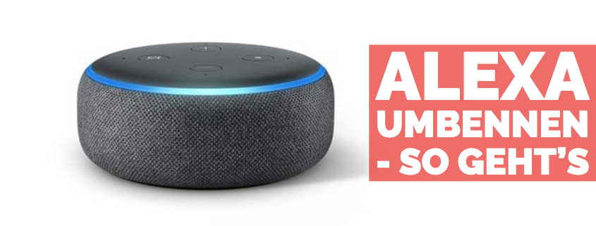 Amazon Alexa umbenennen