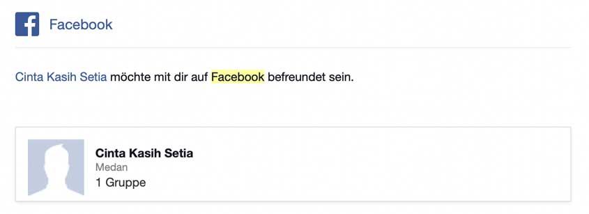 Facebook Spam-Anfragen stoppen