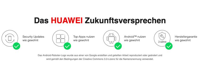 Huawei Zukunftsversprechen - Die Versprechen und seine Auswirkungen