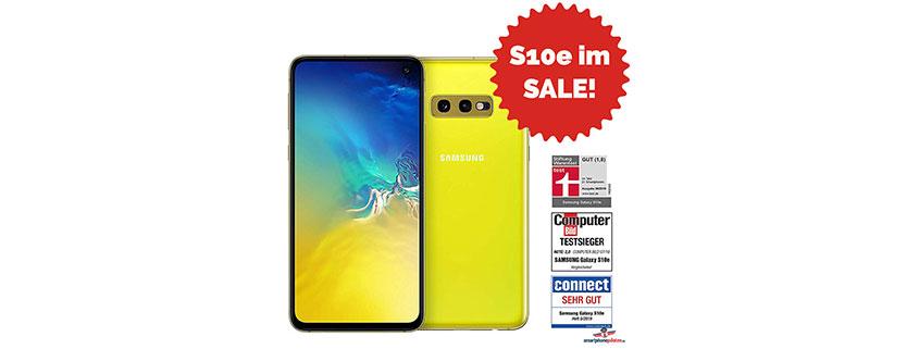 Samsung Galaxy S10e + green LTE 6 GB im Angebot