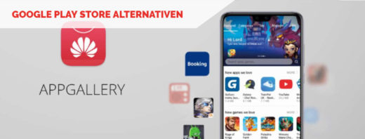 Google Play Store Alternativen Beitragsbild