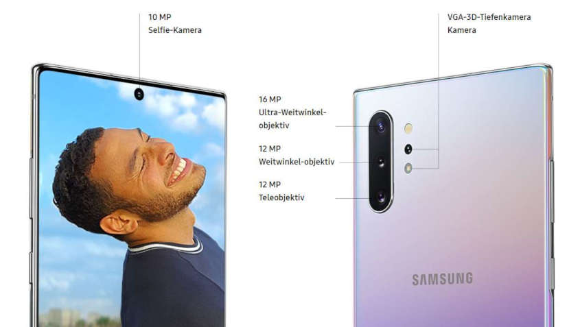 Samsung Galaxy Note 10 Kamera