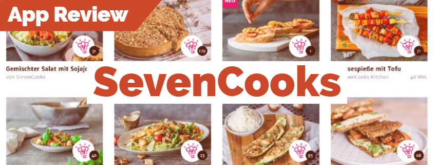 SevenCooks App Review Beitragsbild