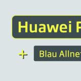 Curved Huawei P30 Lite inkl. LTE Tarif