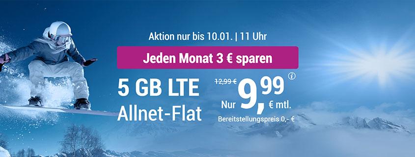 simply 5 GB Tarif für 9,99 €/mtl.