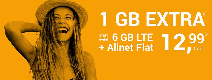 winSIM Aktion 6 GB für 12,99 €
