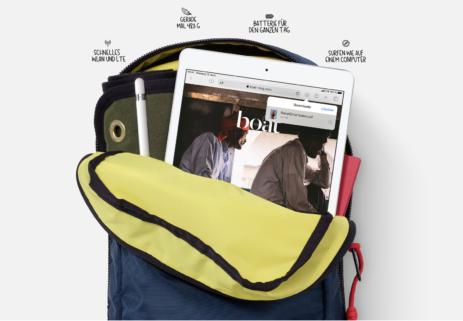 """iPad 10,2"""" inkl. green LTE Data XL"""