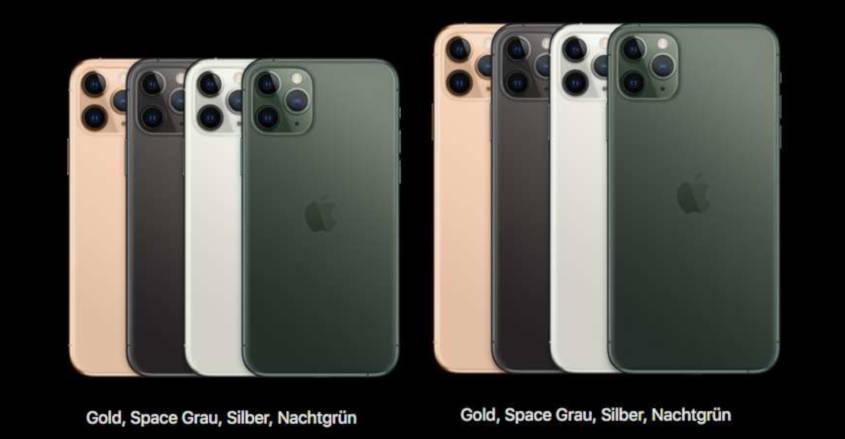 iPhone 11 Pro mit Vertrag Farben