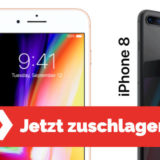 iPhone 8 Deal - Blau Allnet Flat + iPhone 8 für 26,99 €