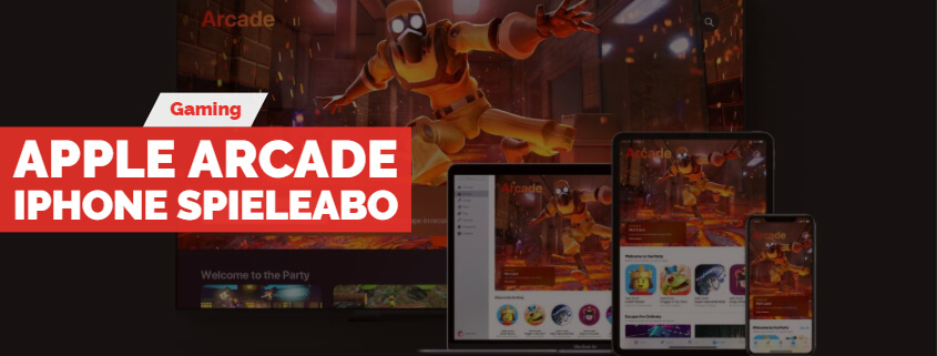 Apple Arcade -iPhone Spieleabo