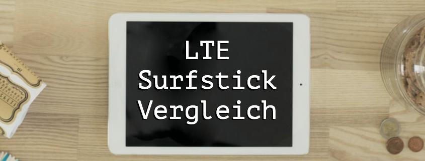 LTE Surfstick Vergleich
