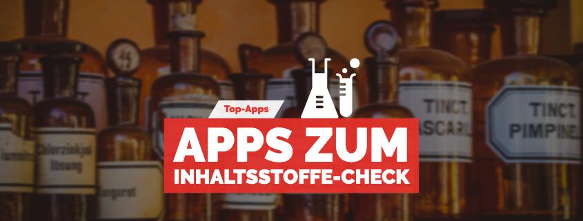 App Inhaltsstoffe checken