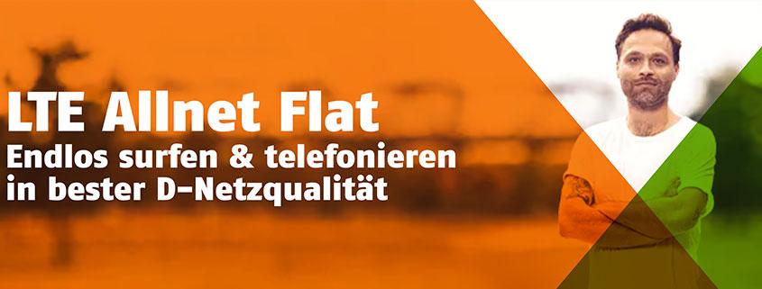 klarmobil Allnet Flat Aktion - Allnet Flat 3 + 3 GB für 12,99 €/mtl.
