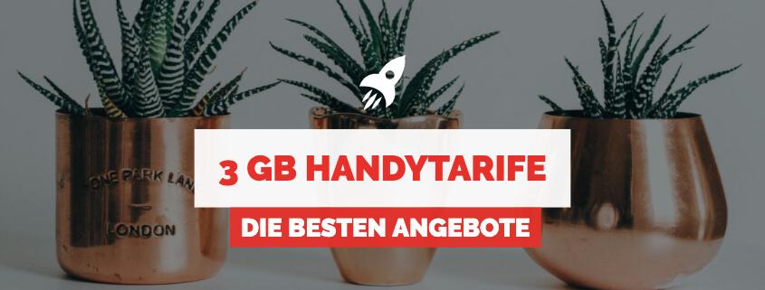 3 GB Handytarife & Allnet Flats