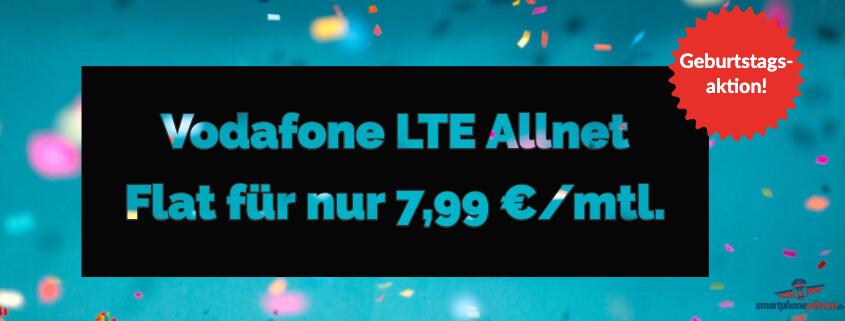 Allmobil Allnet Flat 4 GB LTE für 7,99 €
