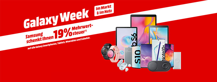 Samsung Galaxy Week Tablets