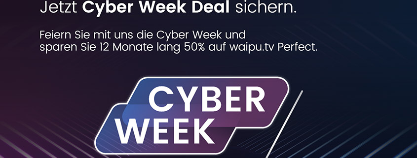 waipu.tv 12 Monate gucken - nur 6 bezahlen