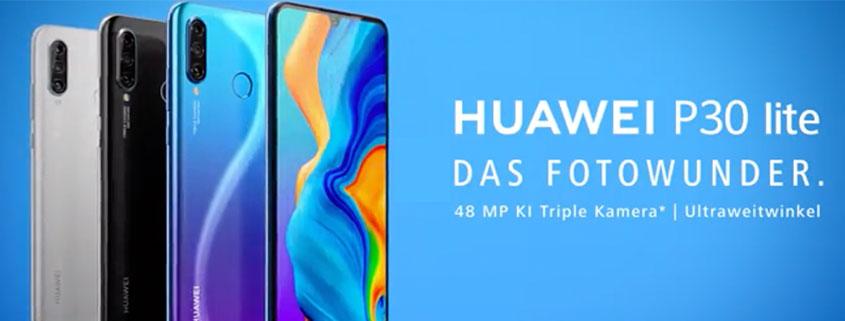 Huawei P30 Lite Angebote ab 15,99 €/mtl.
