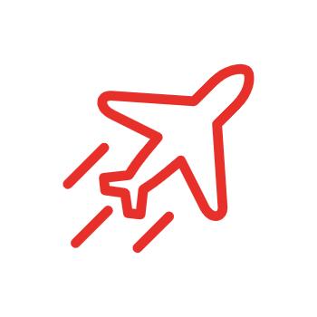 Flugzeug Icon