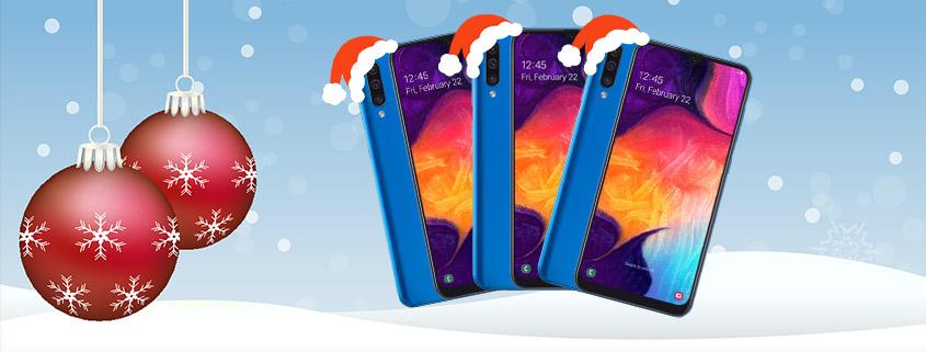 Blau Samsung Galaxy A50 + Blau Allnet XL für 17,99 €/mtl.