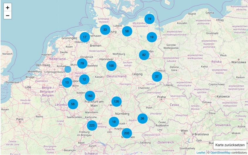 Funklöcher in Deutschland