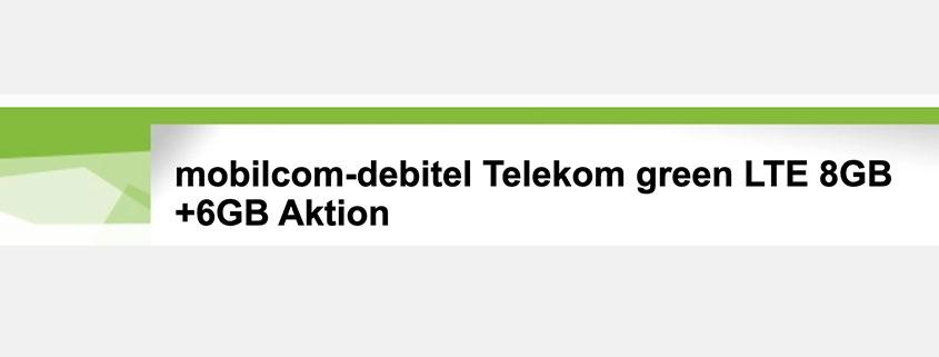 14 GB Telekom LTE Allnet Flat nur 16,99 €/mtl.
