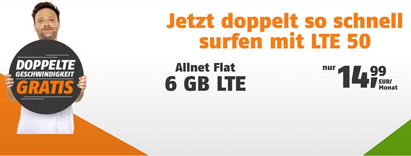 klarmobil Allnet Flats ab 9,99 €/mtl.