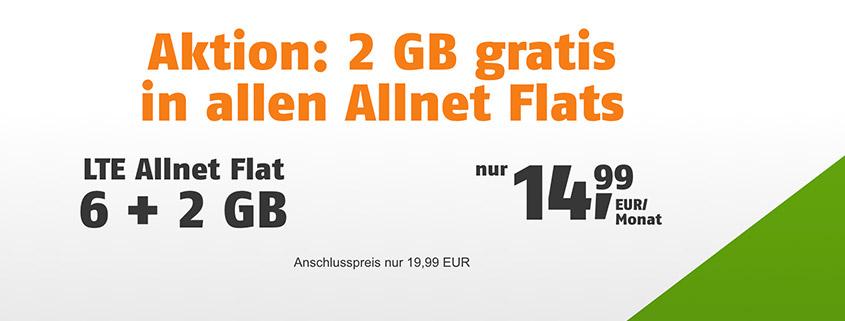 klarmobil Allnet Flats inkl. LTE ab 9,99 €/mtl.