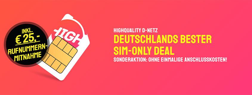 sparhandy Telekom Allnet Flat ab 10 €/mtl.