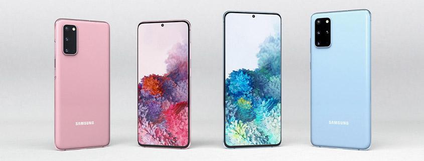 Die neuen Samsung Galaxy S20 Modelle