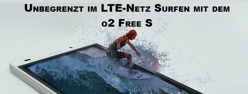 o2 Free S mit Weitersurf-Garantie für 8,99 €/mtl.