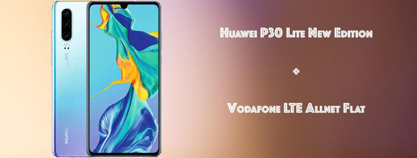 Huawei P30 Lite New edition inkl. 10 GB Vodafone LTE Flat für 19,99 €/mtl.