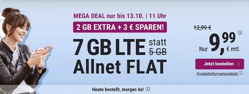simply LTE 5.000 - Aktionstarif mit 2 GB gratis dazu