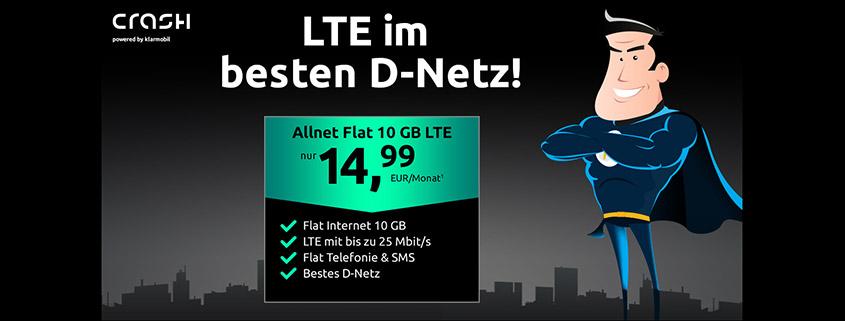 Telekom LTE Allnet Flat für 14,99 €/mtl.