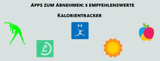 Apps zum Abnehmen: 5 empfehlenswerte Kalorientracker